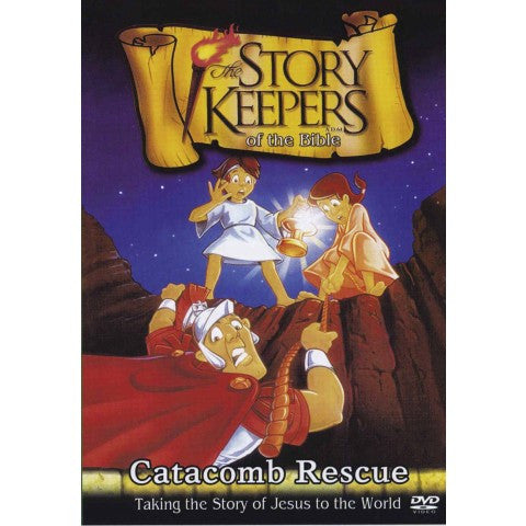 Story Keepers of The Bible - Catacomb Rescue (DVD)