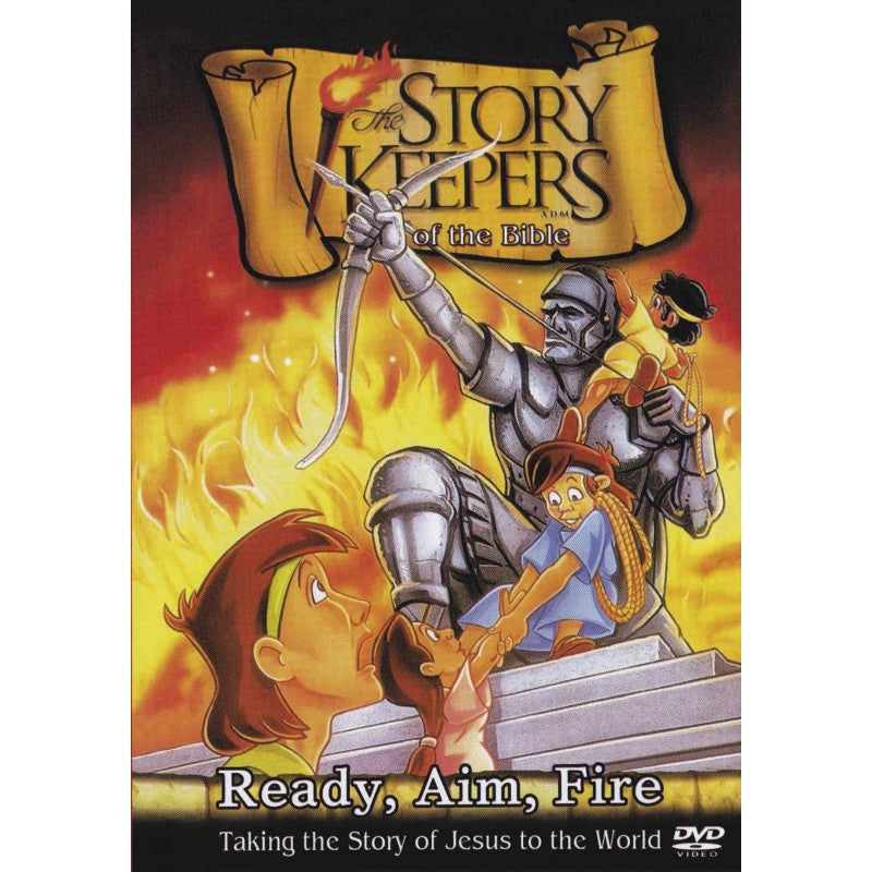 Story Keepers of The Bible - Ready, Aim, Fire (DVD)