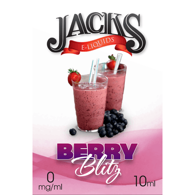 Berry Blitz E-Liquid by JACKS | 10ml, E-Liquid, JACKS - eVapeLiquidShop.com
