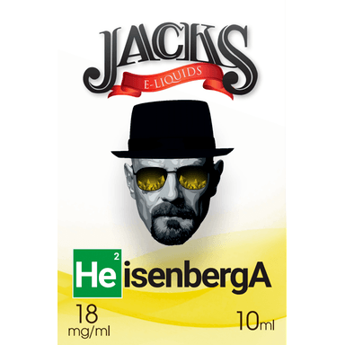Heisenberg E-Liquid by JACKS | 10ml, E-Liquid, JACKS - eVapeLiquidShop.com