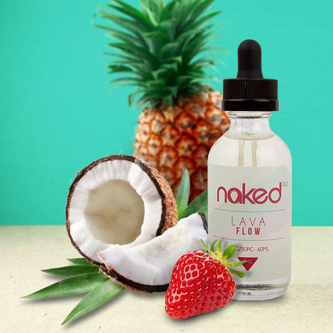 Lava Flow by NAKED 100 | 60ml, E-Liquid, NAKED 100 - eVapeLiquidShop.com