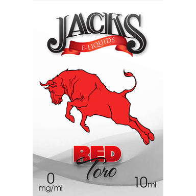 Red Toro E-Liquid by JACKS | 10ml, E-Liquid, JACKS - eVapeLiquidShop.com