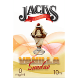 Vanilla Sundae E-Liquid by JACKS | 10ml, E-Liquid, JACKS - eVapeLiquidShop.com