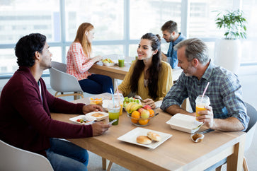 How Language Lunches Can Aid Learning and Bring Colleagues Together