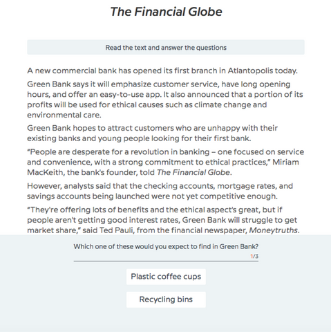 Babbel course for the finance industry