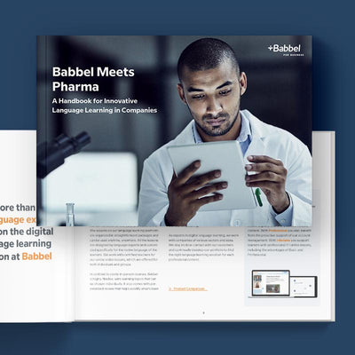 Ebook download Babbel Meets Pharma – Language Training for Companies