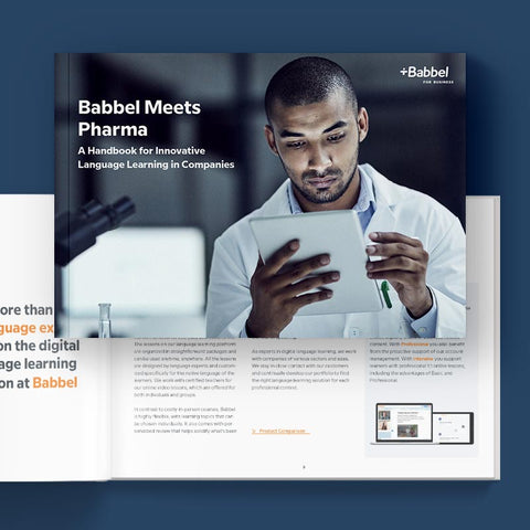 E-Book: Pharma meets Babbel