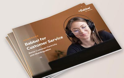 Ebook on language learning for customer service teams