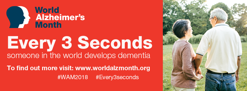 World Alzheimer's Month supported by The Able Label