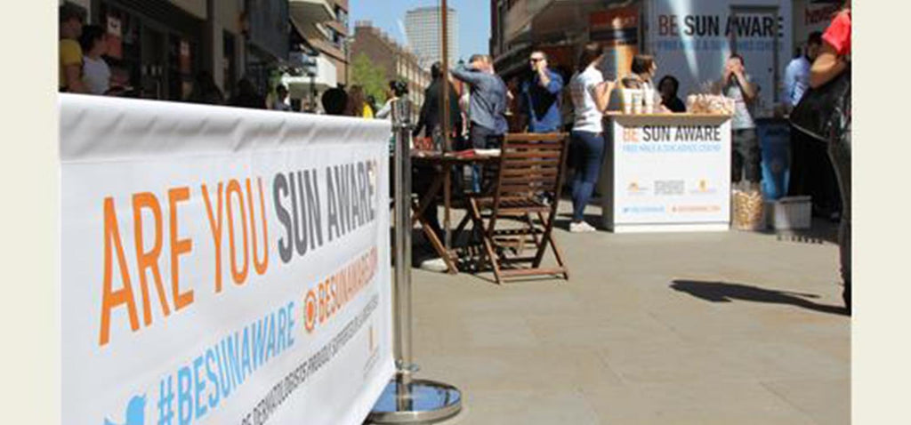 Sun Awareness Week campaign banner