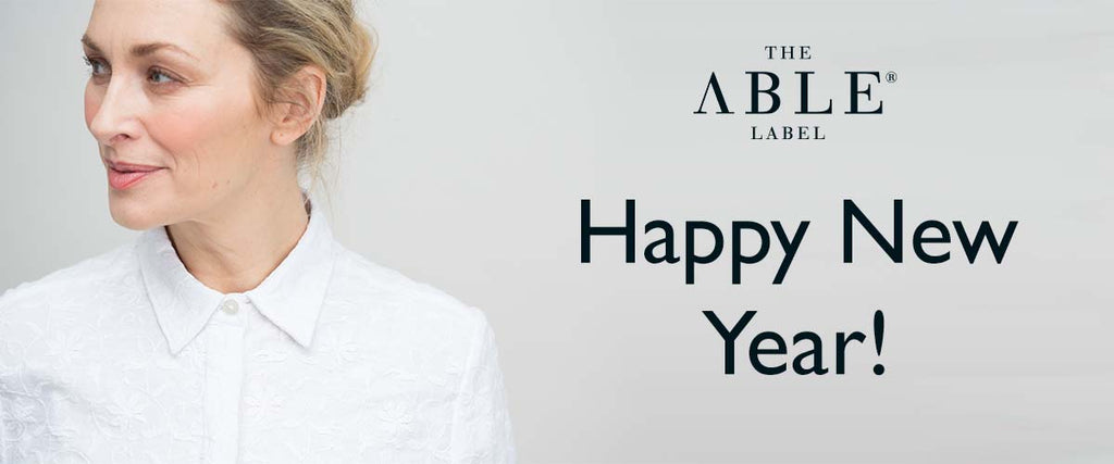 Happy New Year from everyone at The Able Label