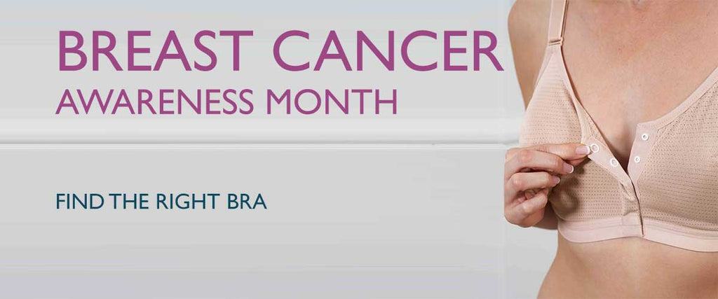 Breast Caner Awareness Month | Find the Right Bra | The Able Label