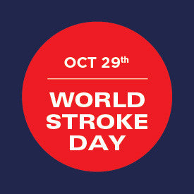 World stroke day promotion logo