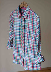 Charlie Check Shirt - Deep Teal