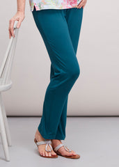 Frankie Straight Leg Trouser - Deep Teal