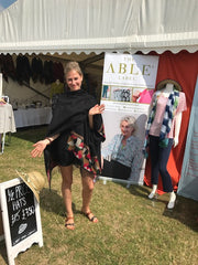 Katie from The Able Label at the Kent County Show