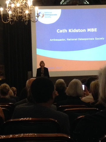 Cath Kidston Talk for National Osteoporosis Society