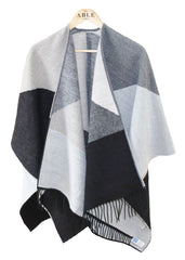Paloma Wrap | Grey | The Able Label