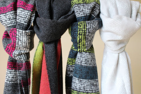 The Able Label Knitted Scarves