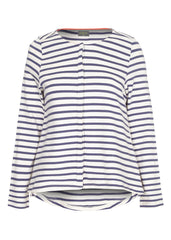 Stella Jersey Top (White Stripe)