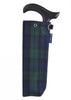 Adjustable Folding Walking Stick Gift Set - Tartan