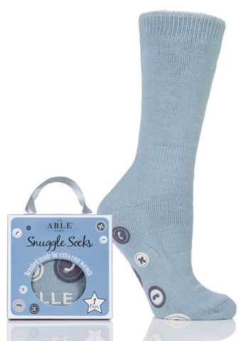 Anna Non-Slip Bed Sock Gift Box - Seaspray