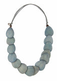 Botanic Adjustable Wooden Necklace - Seaspray