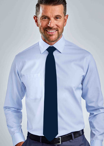 Calvin Clip On Tie - Navy