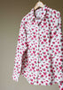 Charlie Woven Floral Shirt - Rose: VAT Exempt