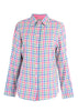 Charlie Woven Check Shirt - Deep Teal
