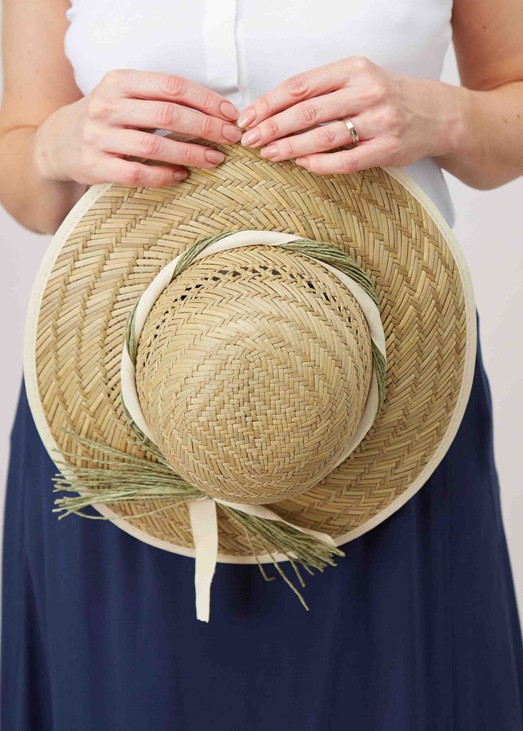 Clare Straw Sun Hat - Neutral