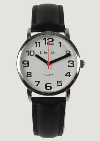 Clear Time Watch - Black