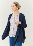Felicity Floral Print Pure Viscose Long Sleeve Shirt - Pastel