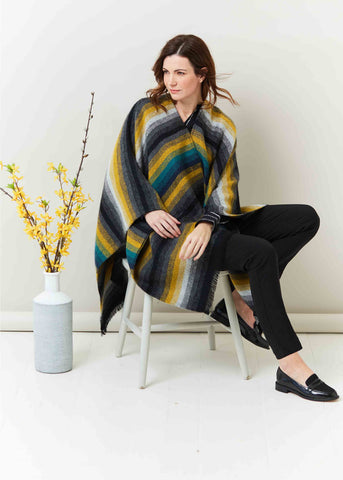 Grace Luxury Wrap - Mustard