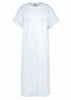 Jess Woven Nightdress - Seaspray: VAT Exempt