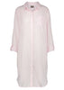 Juliet Pure Cotton 3/4 Sleeve Velcro Nightshirt - Pink Peony