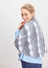 Lilly Luxury Cape - Charcoal