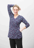 2 Pack Jersey Long Sleeve Velcro Wrap Tops - Multi