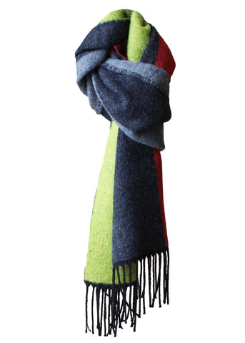 Loredana Luxury Scarf - Golden Lime