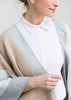 Lottie Knitted Wrap - Neutral