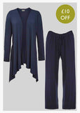 Jersey Lounge Bundle - Navy: VAT Exempt