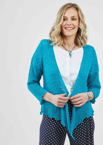 Mandy Wrap Cardigan - Jade