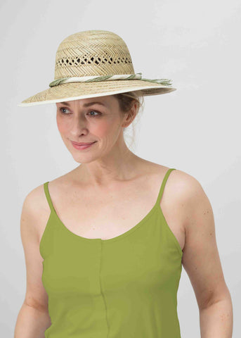 Maria Jersey Vest - Golden Lime: VAT Exempt