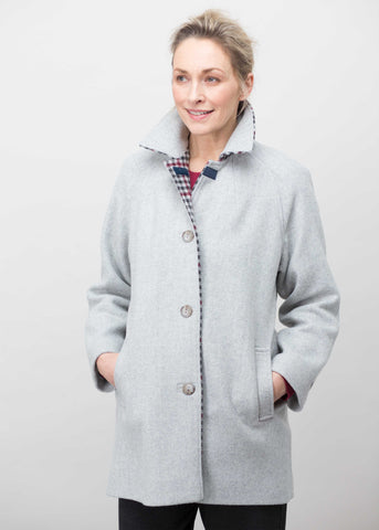 Marilyn Wool Mix Coat - Neutral