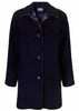 Marilyn Wool Mix Coat - Navy: VAT Exempt