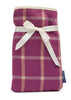 Mini Hot Water Bottle - Heather