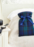 Mini Hot Water Bottle - Tartan