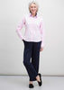 Olivia Long Sleeve Oxford Shirt - Pink