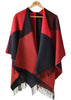 Paloma Luxury Wrap - Dragon Red