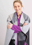 Paloma Luxury Wrap - Grey